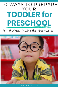 prepare toddler for preschool