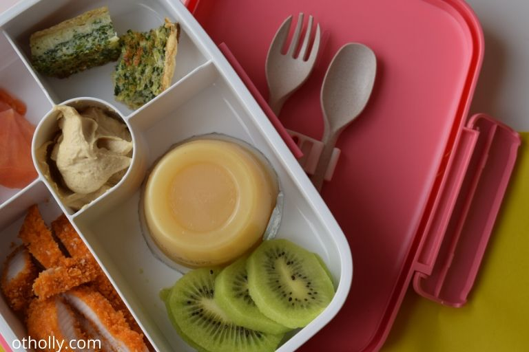 lunch box for 3 year old while preparing for preschool