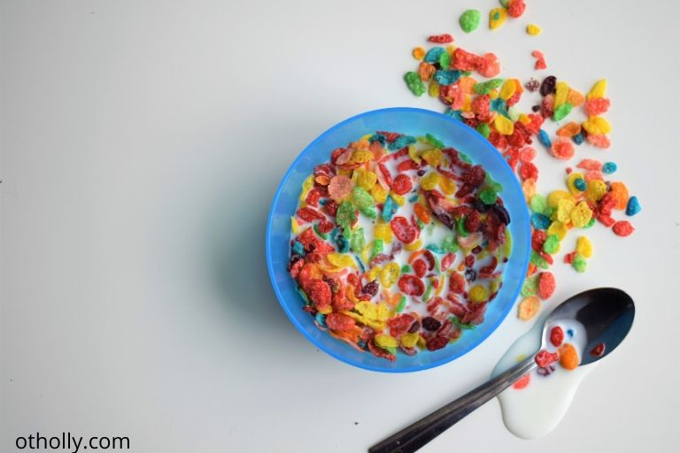 toddler morning routine for preschool cereal