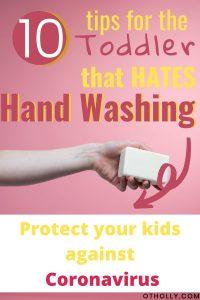 pin for toddler hand washing
