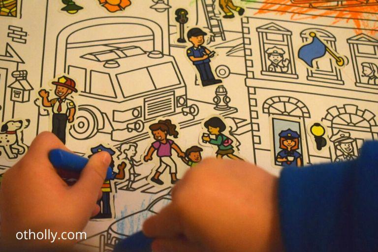 seek and find toddler sticker book