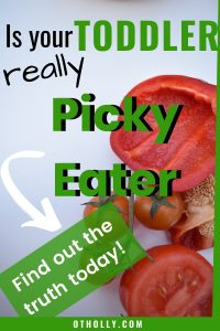 Pin: is your toddler really a picky eater