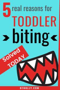 toddler biting pin