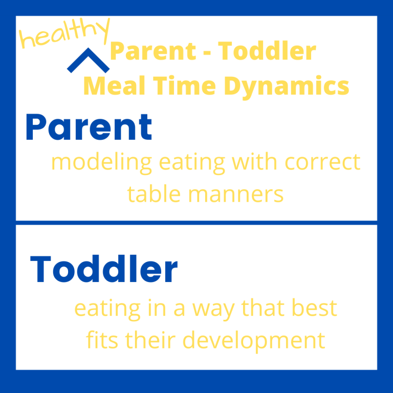 ifo graphic on parent toddler relationship dynamic during meals