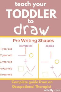 pin of teach your toddler to draw pre writing shapes