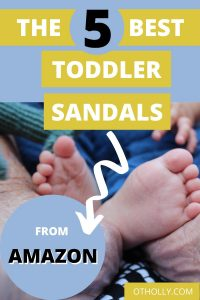 pin of the 5 best sandals for toddlers from amazon