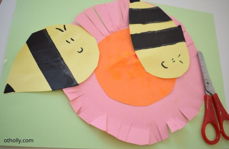 Final cutting activity for 2 and 3 year olds